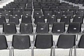 Audience chairs — Stock Photo