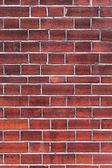 červená cihlová zeď — Stock fotografie