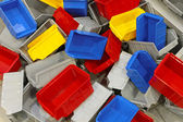 Plastic bins and tubs — Stock Photo