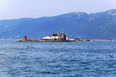 Molo Foraneo Trieste — Stock Photo