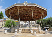 Pavilion gazebo Cannes — Stock Photo