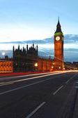 Big Ben dusk — Stock Photo