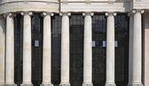 Ionic order columns — Stock Photo