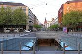 Ernst August Platz Hannover — Stock Photo