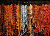 Necklaces pearls — Stock Photo
