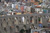 Aqueduct Kavala — Stock Photo