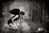 Fallen angel — Stock Photo