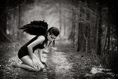 堕落的天使 — 图库照片