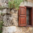 Stock Photo: Rustic Wall and Window