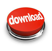 Download Red Round Button Order Online Internet — Stock Photo