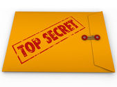 Top Secret Confidential Envelope Secret Information — Stock Photo