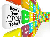 How is Your Mood Emotions Feelings Indicator — Stock Photo