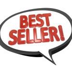 Best Seller Words Speech Bubble Cloud Top Product — Stock Photo