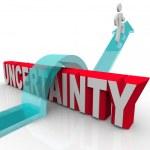 Overcoming Uncertainty Plan Ahead to Avoid Anxiety — Stock Photo
