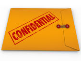 Confidential Classified Envelope Secret Information — Stock Photo