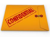 Confidential Classified Envelope Secret Information — Stock Photo
