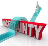 Overcoming Uncertainty Plan Ahead to Avoid Anxiety — Stock Photo