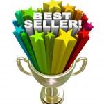 Best Seller Trophy Top Sales Item Salesperson — Stock Photo
