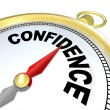 Stock Photo: Confidence - Compass Leads You to Success and Growth