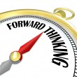 Forward Thinking Gold Compass Leads with Vision Planning - Photo