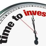 Zeit zu investieren - Uhr — Stockfoto