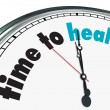 Time to Heal - Ornate Clock - Stock Photo