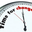Time for Change - Ornate Clock — Foto Stock