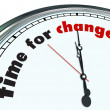 Time for Change - Ornate Clock - Stock Photo
