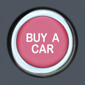Buy a Car Push Button Start Browsing Shopping for Vehicle — Stock Photo