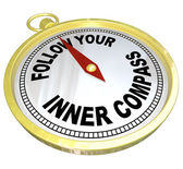 Follow Your Inner Compass Directions for Success — Stock Photo