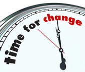 Time for Change - Ornate Clock — Foto de Stock