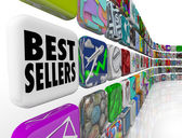 Best Sellers App Ranking List Wall Applications — Stock Photo