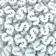 Currency Money Background Dollar Signs Finance — Stock Photo