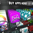 App Vending Machine Buy Apps Shopping Download - Stock Photo