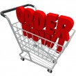 Order Now Words Shopping Cart Purchase e-Commerce Buy Store — Stock Photo
