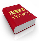 Frenemies A Love Story Book Cover Friends Become Enemies — Stock Photo