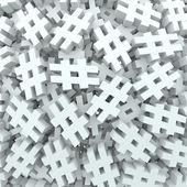 Hash tag número libra símbolo mensaje segundo plano — Foto de Stock