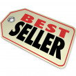 Best Seller Price Tag Sale Merchandise Store — Stock Photo