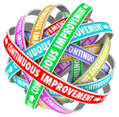 Continuous Improvement Constant Change Growth Progress — Stock Photo