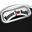 Stock Photo: Measure Your Health Scale Weight Loss Healthy Checkup