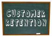 Customer Retention Words Dartboard Tips Advice Keeping Business — Stock Photo