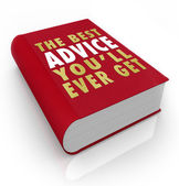 Book Cover Best Advice You'll Ever Get — Stock Photo