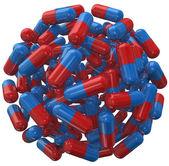 Capsule Pill Ball Prescription Medicine Sphere — Stock Photo
