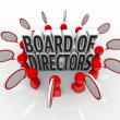 Board of Directors People Speech Bubbles Discussion Company Lead — Stock Photo #35626081