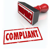 Compliance Stamp Word Audit Rating Feedback — 图库照片