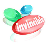 Invincible Vitamins Ultimate Strength Supplements — Stock Photo