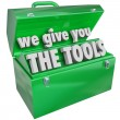 We Give You the Tools Toolbox Valuable Skills Service — Foto Stock #39071539