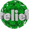 Stock Photo: Relief Medical MarijuanComfort Prescribe Treatment