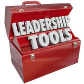 Leadership Tools Skill Management Experience Training — Stock Photo
