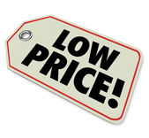 Low Price Tag Sale Clearance Discount Special Deal — Stock Photo